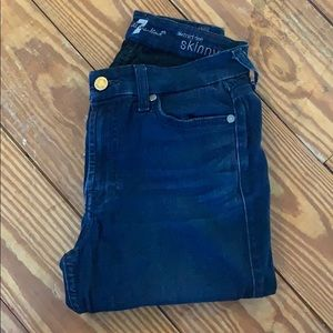 7 for all mankind skinnies
